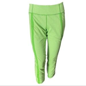 Lululemon Coast to Cost Frond Green/ White Crops